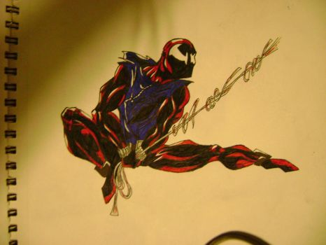 ScarletSpider Swing by MentosMan