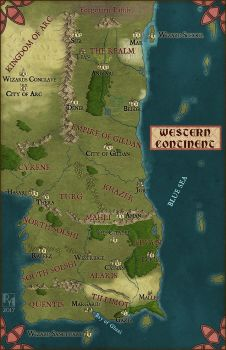 Western Continent by Sapiento