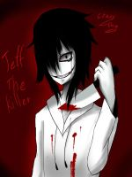 Jeff The killer Fanart by notingAnotAboY
