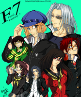 Final Fantasy VII Persona 4 Crossover~ by SerinuCeli