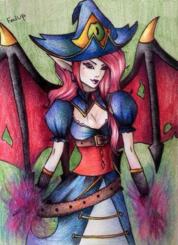 Bewitching Morgana (League of Legends) by ShuMidzu