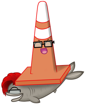 FISH-CONE by LucyNyuElf