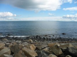 Stock ~ Sea, Rocks by CaitlinDickson
