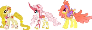 Chinese New Year Pony Adoptable 1 by Sakuyamon