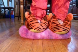 Tigger slippers, back by ExileLink