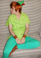 Cosplay: Peter Pan WIP by Abletodoall