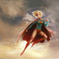 Supergirl by me-illuminated