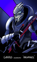 Mass Effect: Garrus by AndrewMartinD