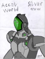 [Accel World] Silver Crow by darkshadow966