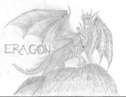 Eragon and Saphira by delbinfang