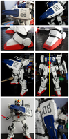 Battle damage RX-79 [G] progress by Vejit