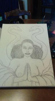 WIP Two of Six Untitled by HARDRICKART