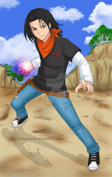 Comm : Android 17 by blumarine