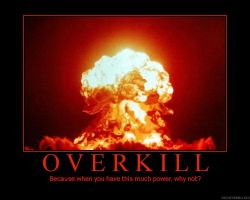 Overkill by ThearahWulf