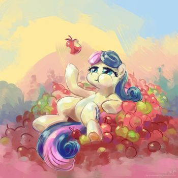 All those Apples by KP-ShadowSquirrel