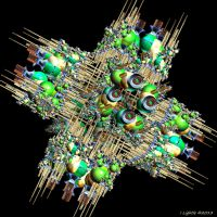 T1 3D Inverse Tree Hexahedron 402 by GraphicLia