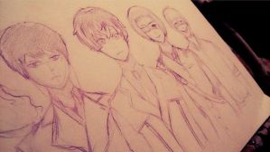 tokyo ghoul:re by anotherwazlib