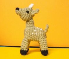 Little Crochet Deer Amigurumi by ShadowOrder7