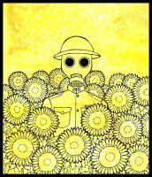 Sunflower Man by radioactive-orchid