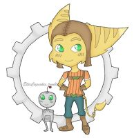 Ratchet and Clank by Elisa-J7B