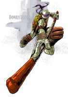 Tmnt Donatello by deemonproductions
