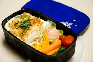 Homemade Fried Chicken Bento by Demi-Plum