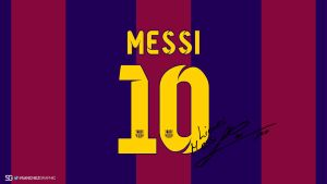 Lionel Messi Signature Kit by SanchezGraphic