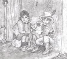 Children of the Andes by Computermouse