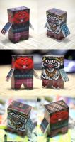 paper toys by madcat7777777