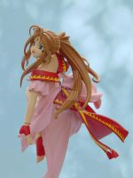 Joyful Belldandy in Sky 3 by ArtyAMG