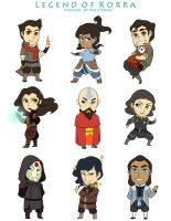 LOK Stickers by chocowaffle