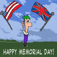 Ferb - Memorial Day - Colored by TurboTony00
