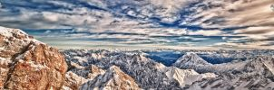 Zugspitze Vista 01 HDR by Creative--Dragon
