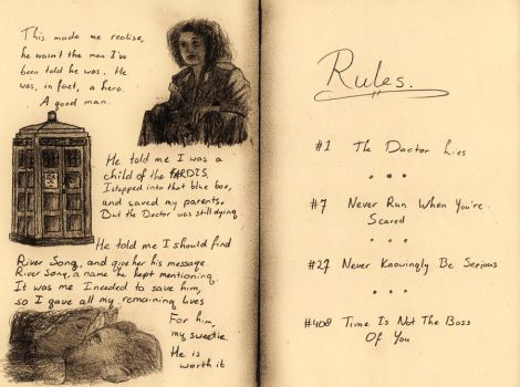 River Song's Diary, page 2 by 11thDoctor