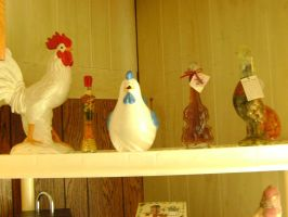 Mom's Rooster Collection 2 by princesslillymono