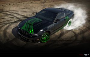 Ford Mustang Shelby GT500 Snake by Paho95