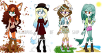 Seasons Adopts Batch (CLOSED) by WodahsComs-n-Adopts