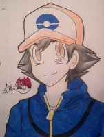 Ash Ketchum by ShinyLatias82