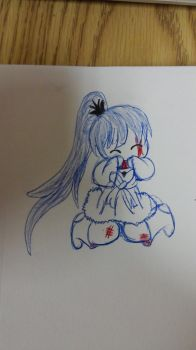 Chibi Weiss by WeakestoftheStrong