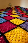 Stained Glass Blanket by lady-dao