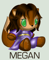 Sonic Plushie Collection:Megan by Omnicenos