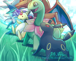 My SoulSilver losers :P by TheCecile