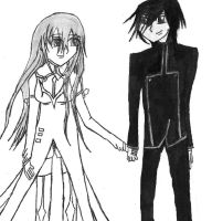 Code Geass C.c And Lelouch by Lenaleekitkat