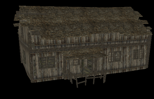 Wooden House - FeralHeart Mesh by giddyfox
