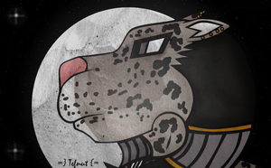 Tefnut - As A Snow Leopard by TwaRavenMotifs