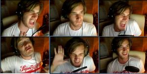 PewDiePies Face Movements by galaxy-flamingos
