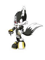 Cyborg The (Ultimate Machine) Fox by X-A-K