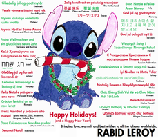 Happy Holidays 2009 by RabidLeroy