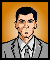 Sterling Malory Archer by MstrRed