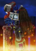 Optimus Repaired by ConvoyKaiser